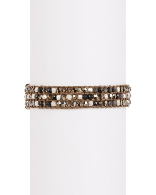 Chan Luu - Multicolor Semi-precious Beaded Bracelet - Lyst