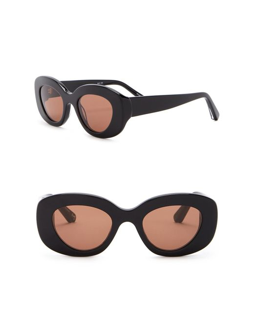 Elizabeth and James - Multicolor Fray 47mm Oversized Oval Sunglasses - Lyst