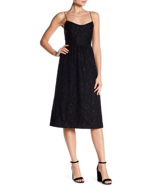 Cece by Cynthia Steffe   Black Danielle Sleeveless Floral Lace Dress   Lyst