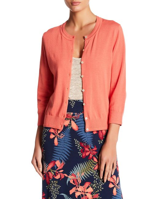 Tommy Bahama | Multicolor Front Button Cardigan | Lyst