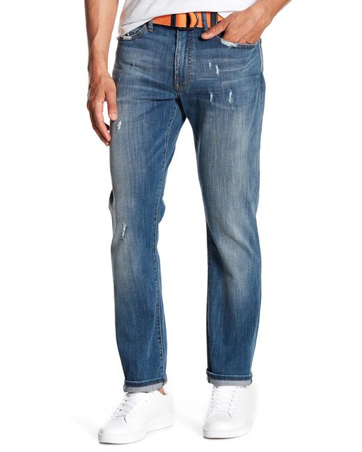 """Lucky Brand - Blue 121 Slim Fit Jeans - 30-34"""" Inseam for Men - Lyst"""