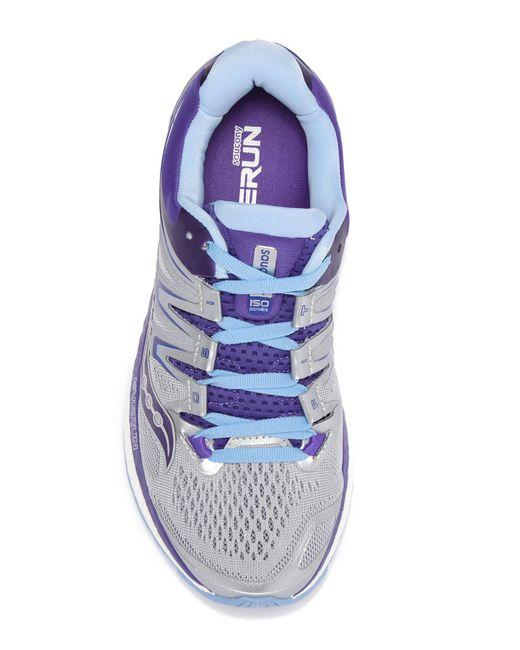 Women's Gray Hurricane Iso 4 Running Sneaker