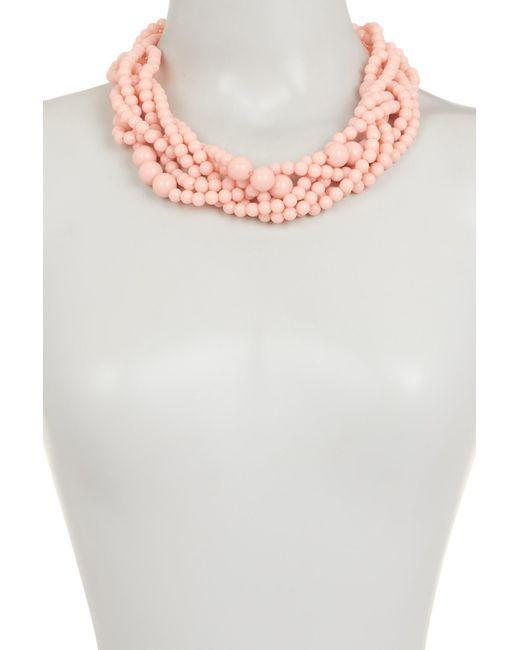 BaubleBar - Pink Bubblestream Collar Necklace - Lyst