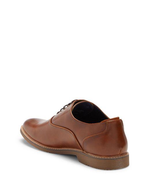 467905f336c ... Steve Madden - Brown Ollie Leather Oxford for Men - Lyst ...