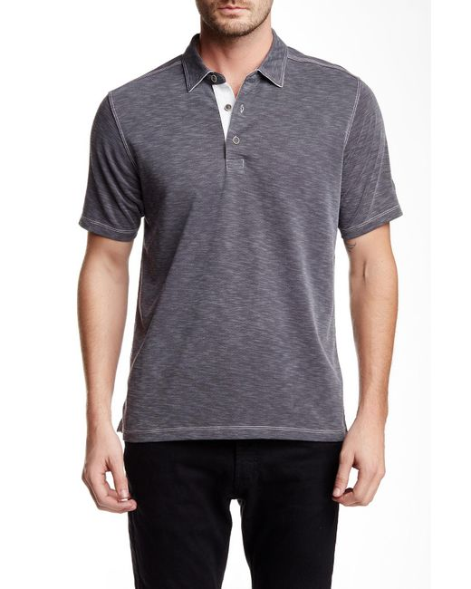 Lyst Tommy Bahama Paradiso Polo In Gray For Men