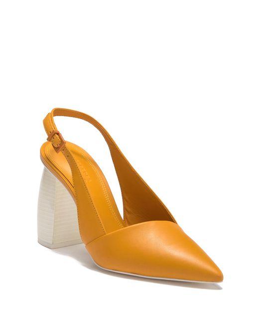 MERCEDES CASTILLO - Orange Noni High Slingback Pump (women) - Lyst