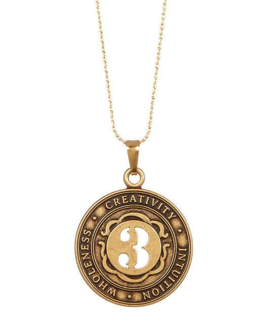 ALEX AND ANI | Metallic Numerology Number 3 Charm Necklace | Lyst