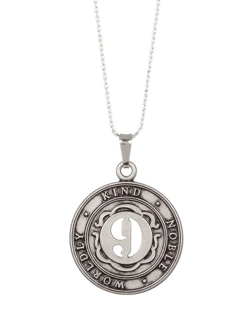 ALEX AND ANI | Metallic Numerology Number 9 Charm Adjustable Necklace | Lyst