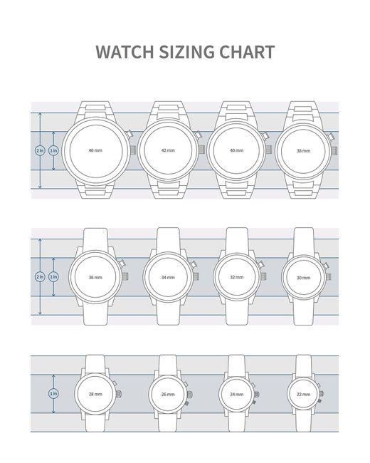 Emporio Armani | Multicolor Men's Beta Leather Watch for Men | Lyst