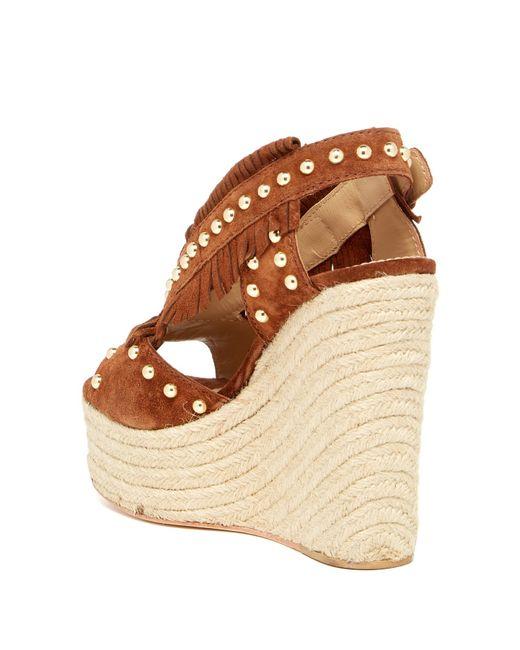 Ash Bali Wedge Sandal In Brown Sigaro Save 37 Lyst