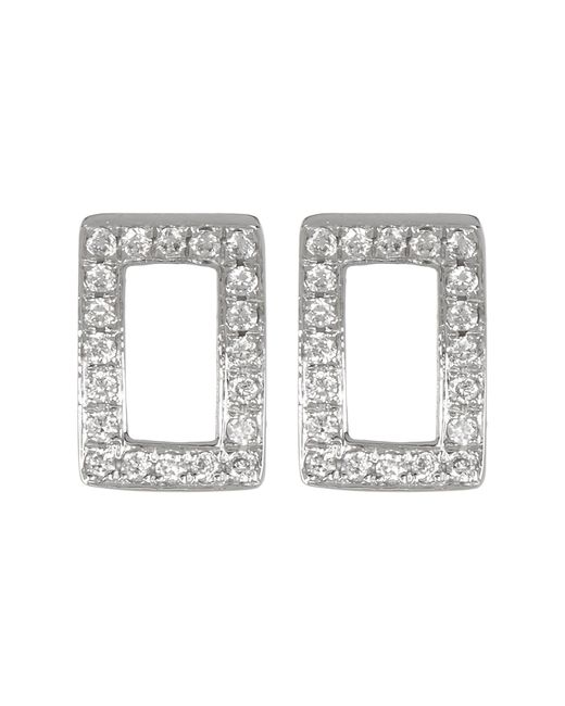 Bony Levy | Multicolor 18k White Gold Diamond Pave Baby Toes Stud Earrings - 0.07 Ctw | Lyst
