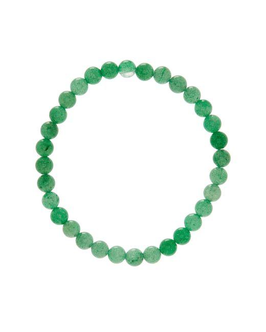Link Up   6mm Green Adventurin Beaded Bracelet   Lyst