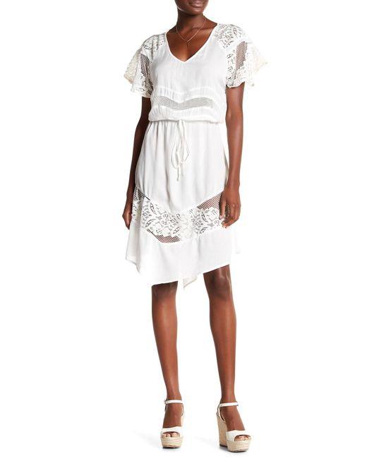 Tiare Hawaii | White Blue Moon Short Dress | Lyst