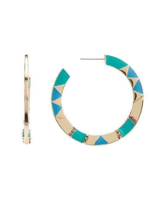 House of Harlow 1960 | Blue 44mm Nelli Hoop Earrings | Lyst