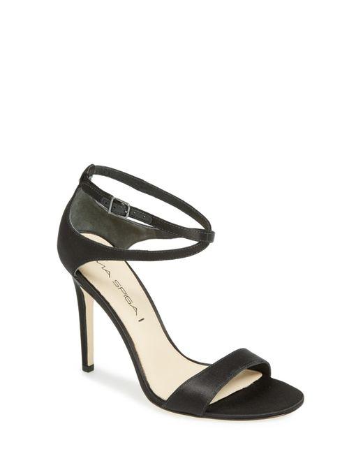 Via Spiga | Black 'tiara' Sandal | Lyst