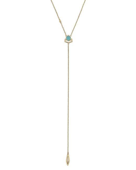 Cole Haan   Multicolor Crystal Y-necklace   Lyst