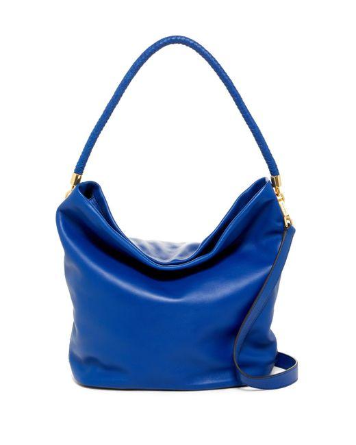 Cole Haan   Blue Benson Ii Leather Hobo Bag   Lyst