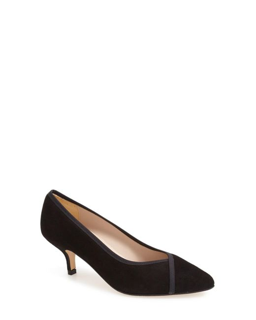 Andre Assous | Black 'chloe' Pointy Toe Pump | Lyst
