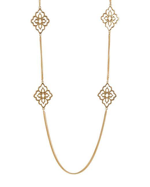 Carolee | Metallic Illusion Multi-strand Necklace | Lyst