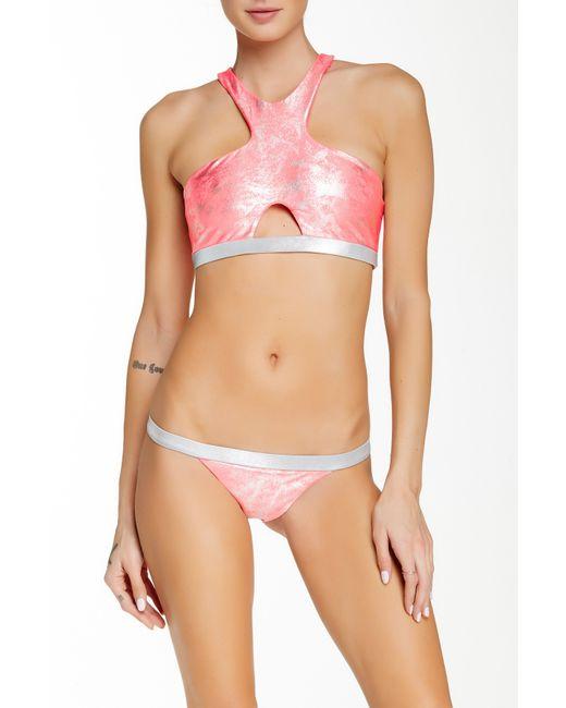 Beach Bunny | Pink Neon Galaxy Tankini | Lyst