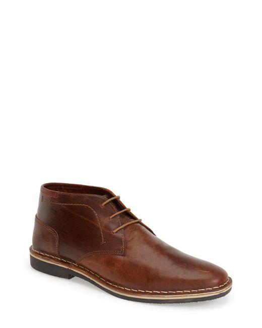 Steve Madden | Brown 'harken' Leather Chukka Boot for Men | Lyst