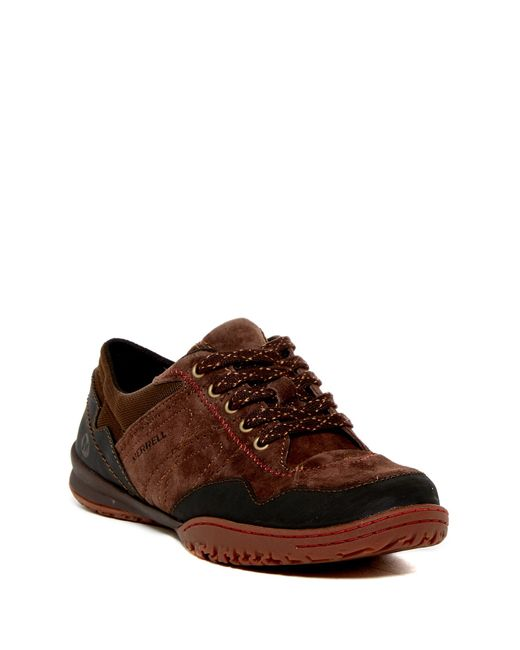 Merrell | Brown Albany Lace-up Sneaker | Lyst
