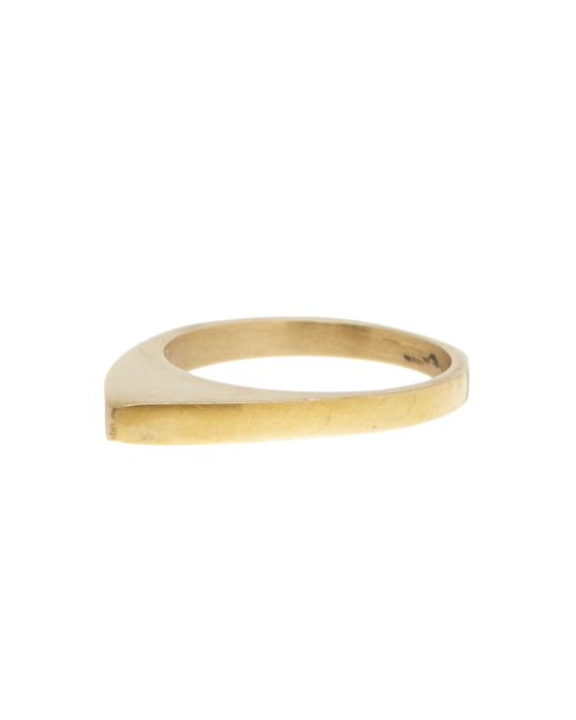 Soko | Metallic Smooth On Point Ring - Size 6 | Lyst