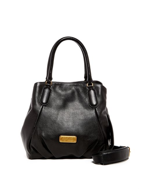 Marc By Marc Jacobs | Black New Q Fran Leather Satchel | Lyst