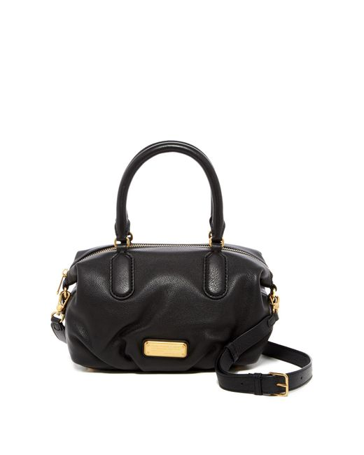 Marc By Marc Jacobs | Black New Q Small Legend Leather Satchel Shoulder Bag | Lyst