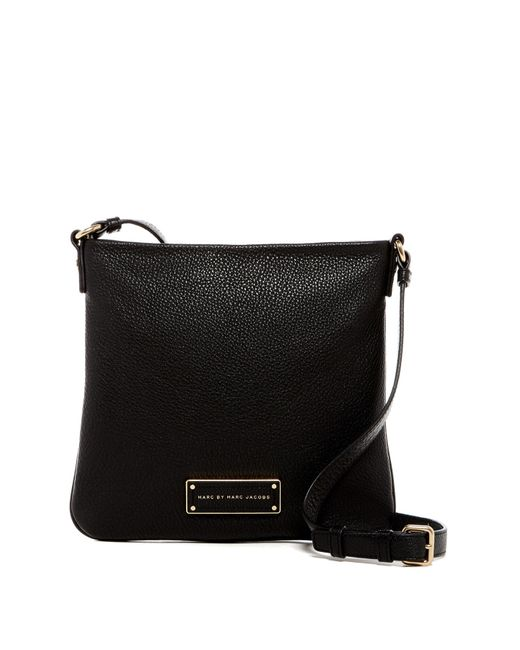 Marc By Marc Jacobs | Black Sia Leather Crossbody | Lyst