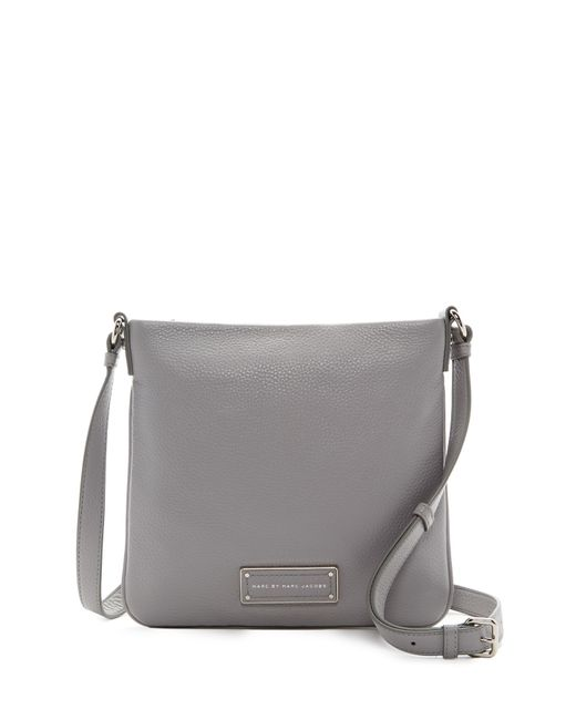 Marc By Marc Jacobs | Gray Sia Leather Crossbody | Lyst