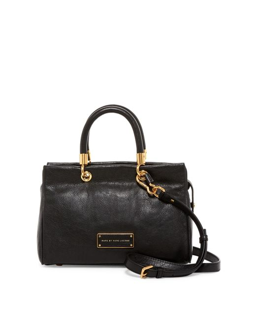 Marc By Marc Jacobs | Black Too Hot To Handle Leather Satchel | Lyst
