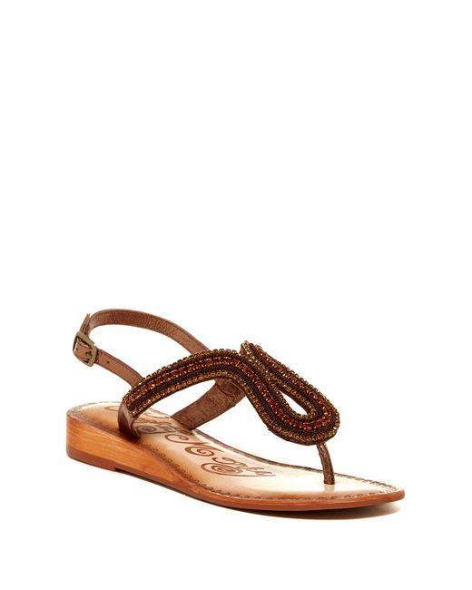 naughty monkey womens alloy sandal
