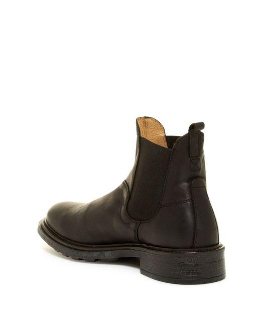 h by hudson denne chelsea boot in black for men lyst. Black Bedroom Furniture Sets. Home Design Ideas