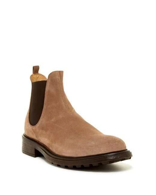 h by hudson denne chelsea boot in brown for men lyst. Black Bedroom Furniture Sets. Home Design Ideas