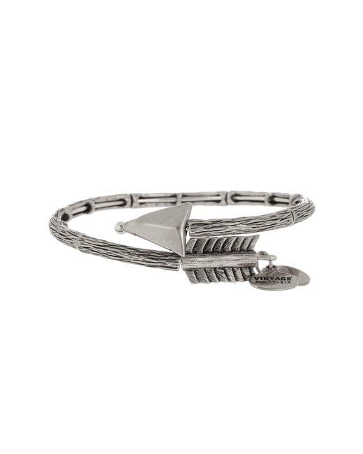 ALEX AND ANI | Metallic Lovestruck Arrow Wrap Bracelet | Lyst