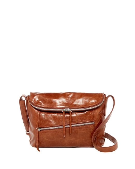 Hobo | Brown Shane Leather Crossbody | Lyst