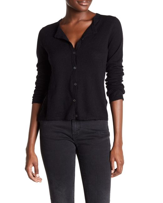 Zadig & Voltaire | Black Long Sleeve Cashmere Colorblock Cardigan | Lyst