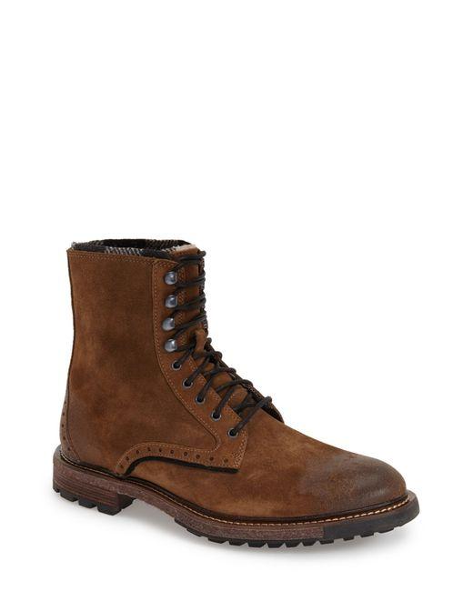 Woolrich | Brown 'bootlegger' Plain Toe Boot (men) for Men | Lyst
