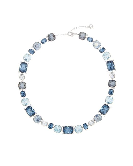 Swarovski | Multicolor Divinity Multi Color Faceted Crystal Statement Necklace | Lyst