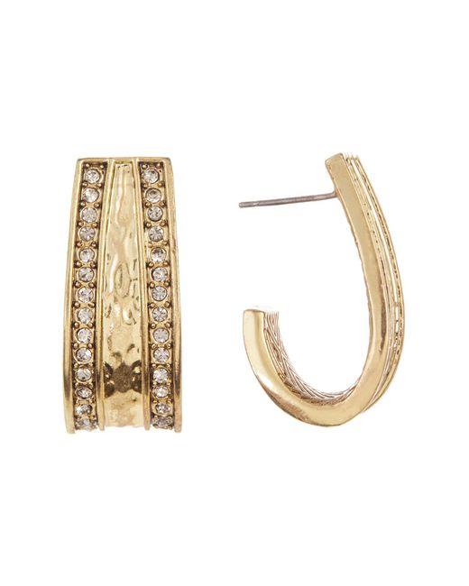 House of Harlow 1960   Metallic Embellished Cuff Earrings   Lyst