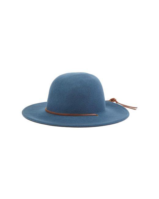 b322eee9cd81c ... best price brixton blue tiller wool hat lyst d4f86 ca2cf