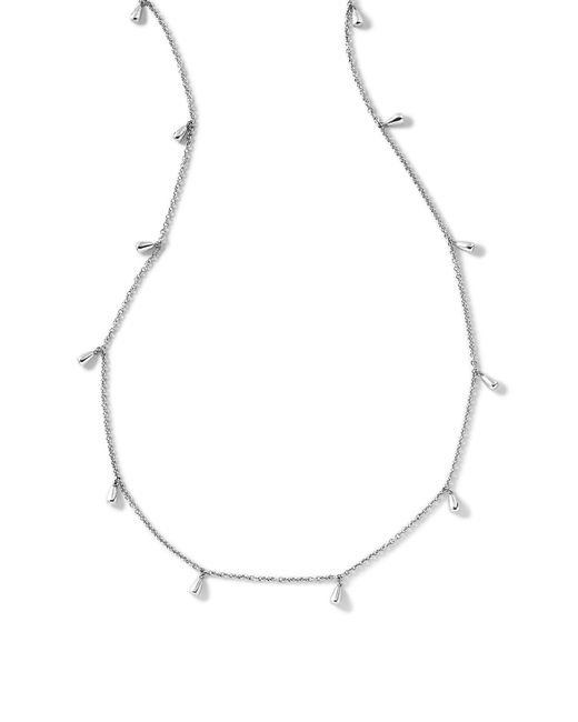 Ippolita - Metallic Classico Sterling Silver Rose Petal Station Long Necklace - Lyst