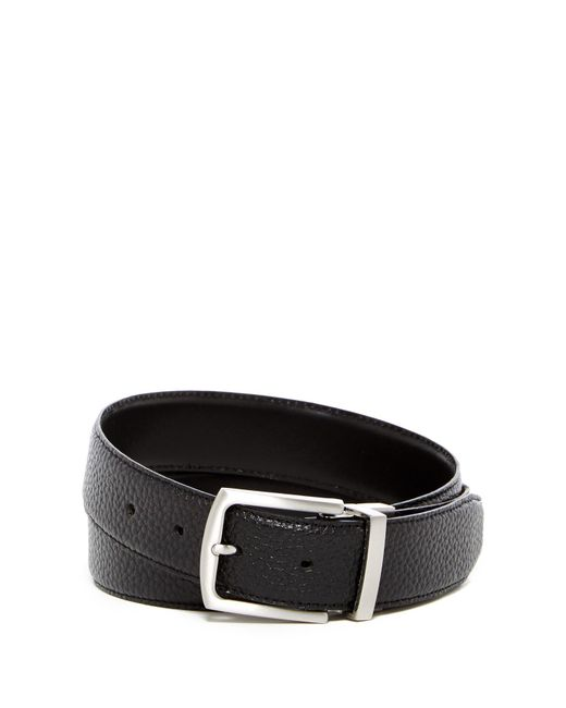 Cole Haan - Black Reversible Leather Belt for Men - Lyst