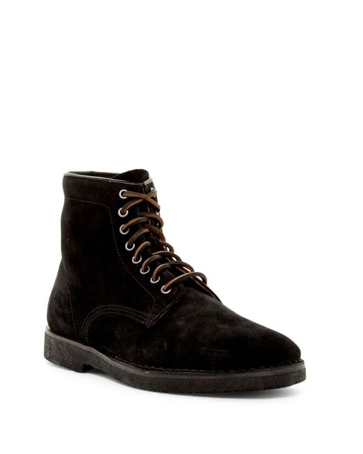 Frye - Black Arden Lace-up Boot for Men - Lyst