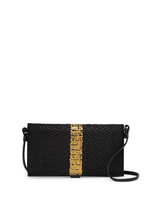 The Sak - Black Paloma Lg Smartphone Leather Crossbody Bag - Lyst
