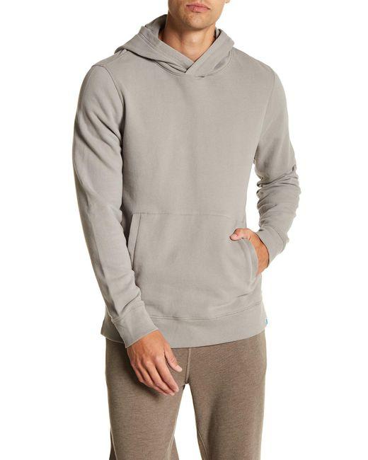Jason Scott - Gray Dunston Hooded Pullover for Men - Lyst