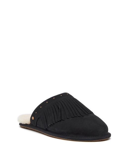 Ugg - Black Amarina Pure Lined Slipper - Lyst