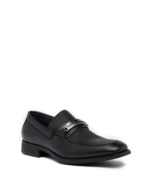 Calvin Klein | Black Ervin Slip-in Bit Loafer for Men | Lyst
