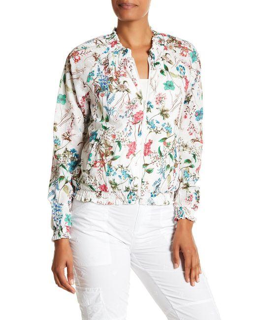 Sanctuary - Multicolor In Bloom Zip Jacket - Lyst